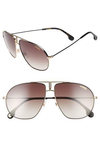 Carrera Bound 62Mm Sunglasses - Black Gold