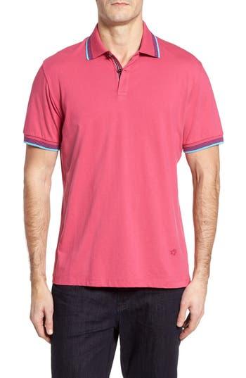 Men's Stone Rose Slim Fit Pima Cotton Polo