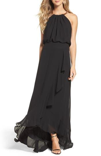 Women's Eliza J Chiffon Ruffle Gown