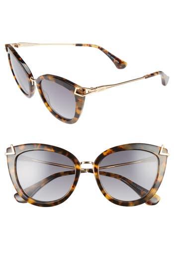 Sonix Melrose 51Mm Gradient Cat Eye Sunglasses -