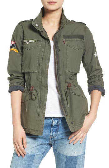 Women's Levi's Patched Utility Jacket