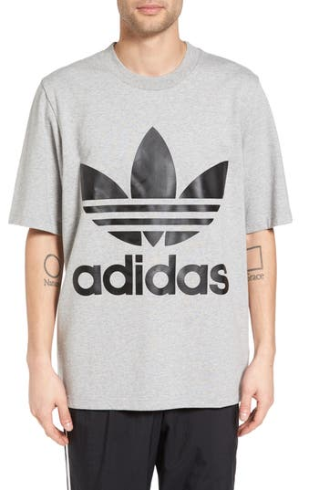 Adidas Originals Ac Boxy Oversize T-Shirt, Grey