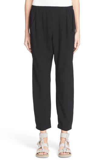 Women's Zero + Maria Cornejo Gabi Drape Trousers