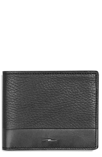 Shinola Bolt Leather Wallet -