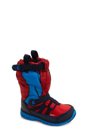 Boy's Stride Rite Made2Play Spiderman Water Resistant Boot