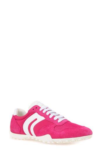 Geox Snake Sneaker, Pink