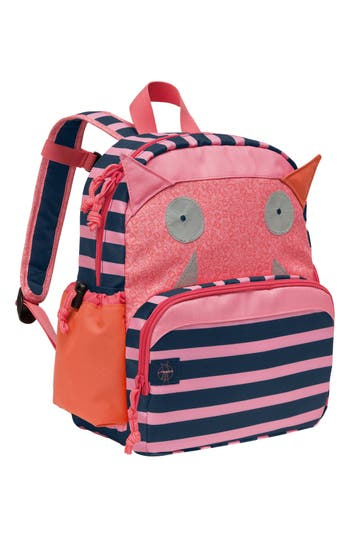 Toddler Lassig Little Monster Glow In The Dark Mini Backpack - Pink