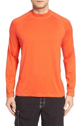 Big & Tall Tommy Bahama Surf Chaser Crewneck T-Shirt, Orange