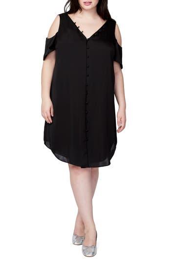 Plus Size Rachel Rachel Roy Cold Shoulder Shift Dress