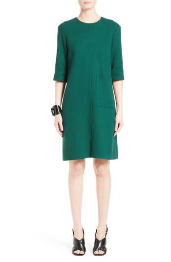 Marni Crepe Shift Dress, US / 40 IT - Green