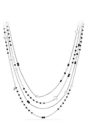 Women's David Yurman Solari Two Row Pearl Chain Necklace