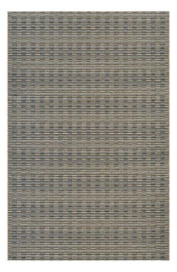 Couristan Barnstable Indoor/outdoor Rug, ft 0in x 3ft 7in - Black