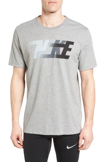 Nike Dri-Fit Training T-Shirt, Grey