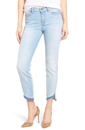 7 For All Mankind Ankle Straight Leg Jeans