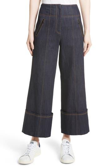 Women's Cinq À Sept Marla Cuff Jeans