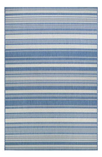 Couristan Gazebo Indoor/outdoor Rug, ft 0in x 3ft 7in - Blue