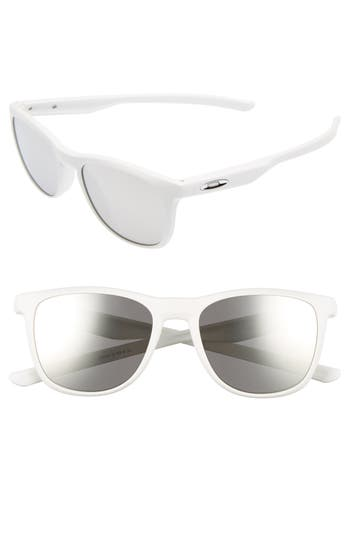 Oakley Trillbe X 52Mm Sunglasses - White/ Chrome Iridium