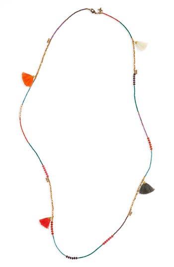 Women's Panacea Tassel Beaded Necklace