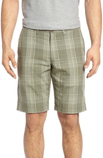Tommy Bahama Dayboard Plaid Shorts, Green
