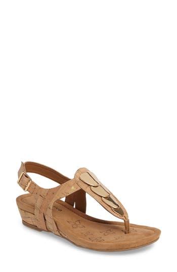 Comfortiva Summit Wedge Sandal, Metallic