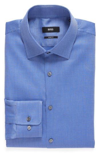 Men's Boss Sharp Fit Solid Dress Shirt