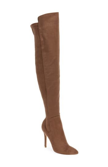 Charles By Charles David Perfect Over The Knee Boot- Beige