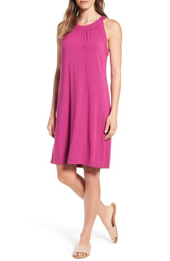 Tommy Bahama Tambour Shift Dress, Purple