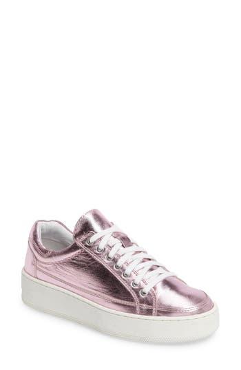 Free People Letterman Platform Sneaker, Pink