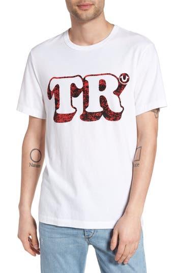 True Religion Brand Jeans Copyright Graphic T-Shirt, White