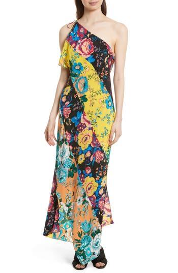 Diane Von Furstenberg Silk Maxi Dress, Blue