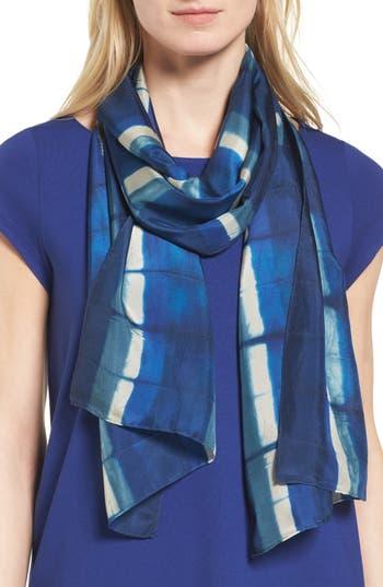 Women's Eileen Fisher Tie Dye Silk Scarf