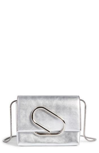 3.1 Phillip Lim Micro Alix Leather Crossbody Bag - Metallic