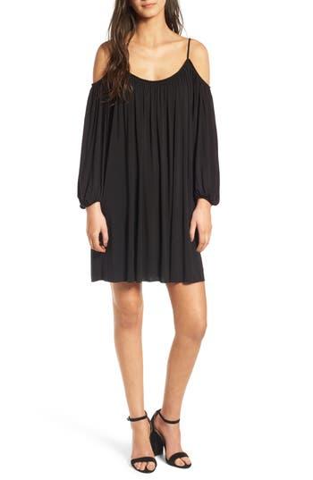 Bailey 44 Danseuse Cold Shoulder Dress, Black