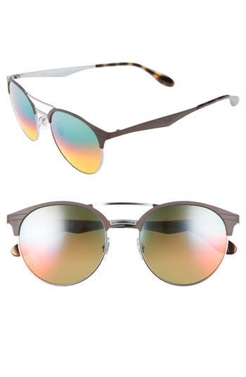 Ray-Ban Highstreet 5m Round Sunglasses - Blue/ Violet