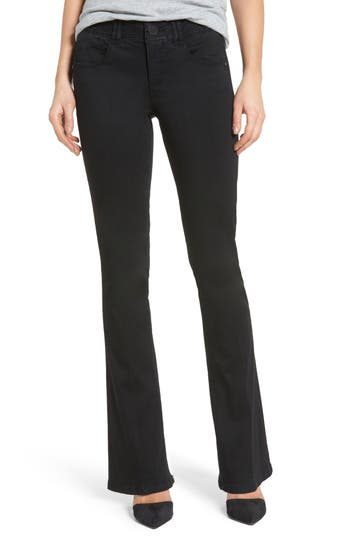 Petite Women's Wit & Wisdom Ab-Solution Itty Bitty Bootcut Jeans