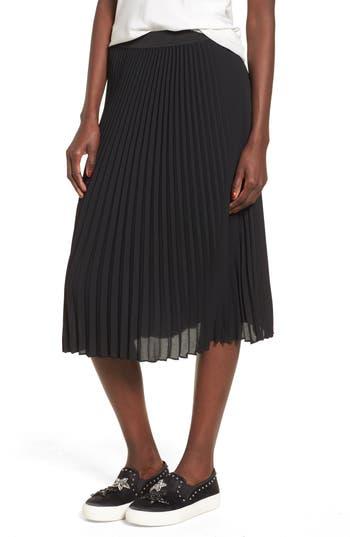 Bp. Pleated Midi Skirt