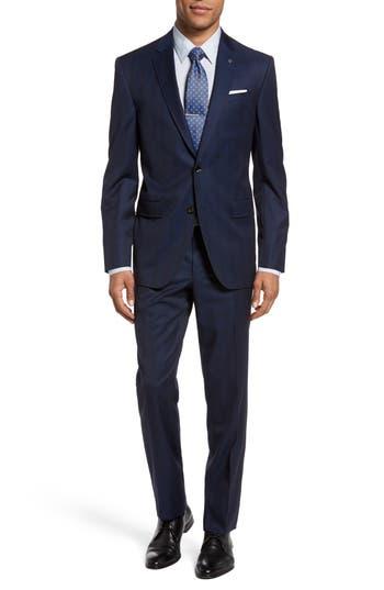 Men's Ted Baker London Jay Trim Fit Plaid Wool Suit