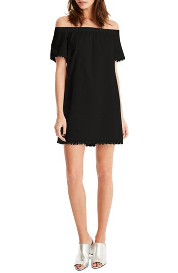 Michael Stars Off The Shoulder Dress, Black