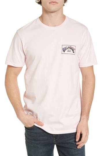 Billabong Boxed Arch T-Shirt, Purple