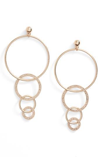 Women's Ettika Dangle Hoop Drop Earrings