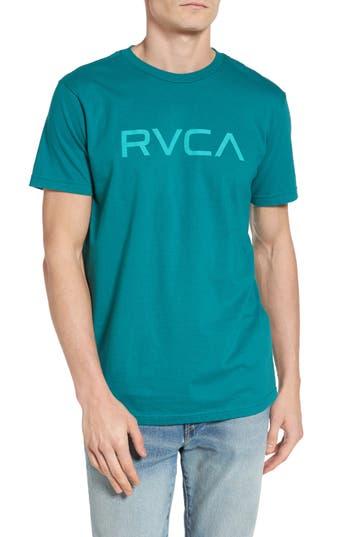 Rvca Big Rvca Graphic T-Shirt, Green