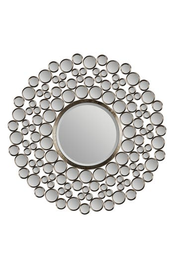 Renwil Andromeda Round Mirror, Size One Size - Metallic