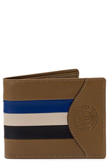 Ghurka Leather Wallet - Beige