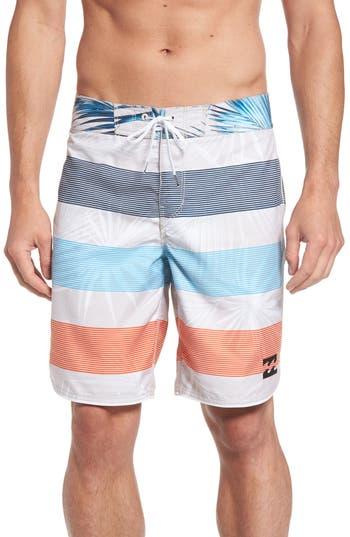 Billabong 73 Og Stripe Board Shorts, Grey