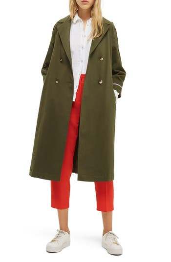 Women's Topshop Relaxed Trench Coat