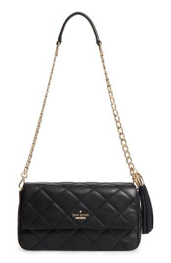 Kate Spade New York Emerson Place - Serena Leather Shoulder Bag - Black