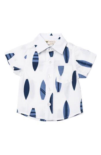 Infant Boy's Monica + Andy Organic Cotton Woven Shirt