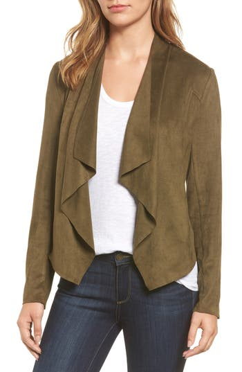 Women's Kut From The Kloth Tayanita Faux Suede Jacket