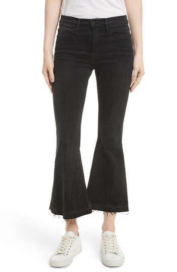 Frame Le Crop Bell Skinny Cargo Pants, 3 - Black