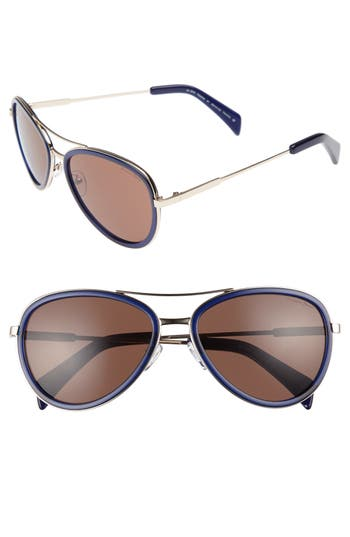 Women's Draper James 58Mm Aviator Sunglasses -